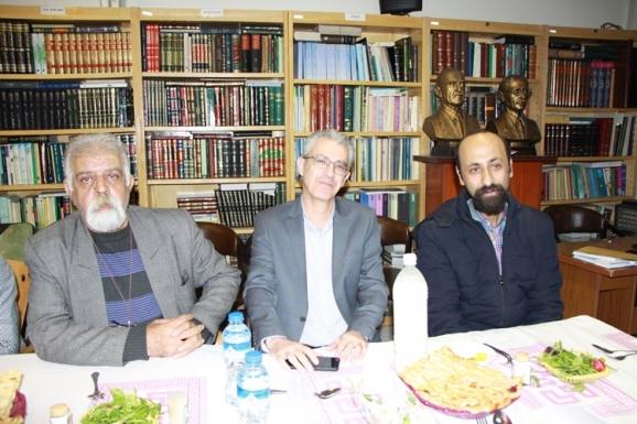 فرهاد طاهری، مجید عبدامین، جمشید کیانفر