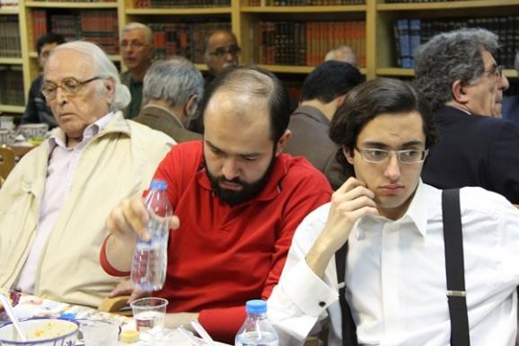 از راست: احسان شواربی، الوند بهاری و ضیاء موحد