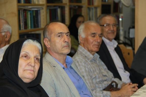 از راست: یحیی شایسته منش، سید جلال حسینی بدخشانی، محمد حسین ساکت و نوش آفرین انصاری