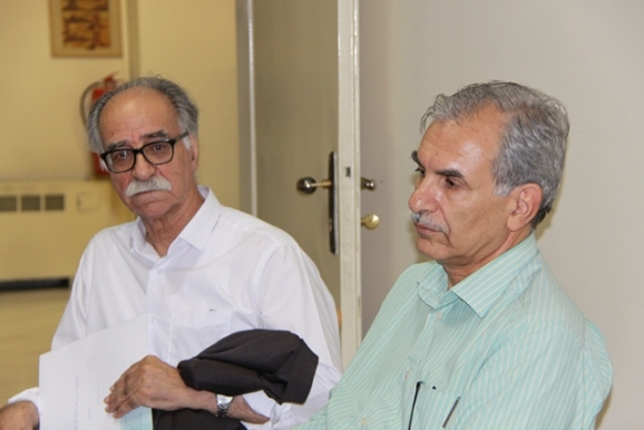 علیرضا هاشمینژاد (خوشنویس و پژوهشگر خط)، دکتر محمود عابدی
