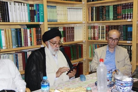 دکتر علی اشرف صادقی، حجتالاسلام سیدهادی خامنهای