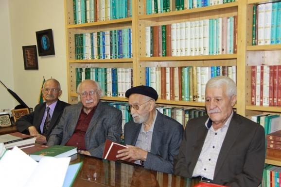 دکتر توفیق سبحانی، استاد محمدعلی موحد، دکتر فتحالله مجتبایی، دکتر محمدحسین ابریشمی
