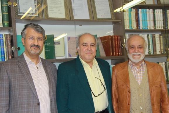 دکتر مجدالدین کیوانی، احمد ناهید، دکتر اکبر ایرانی