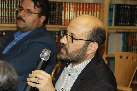 غلامرضا امیرخانی - معاون کتابخانۀ ملی