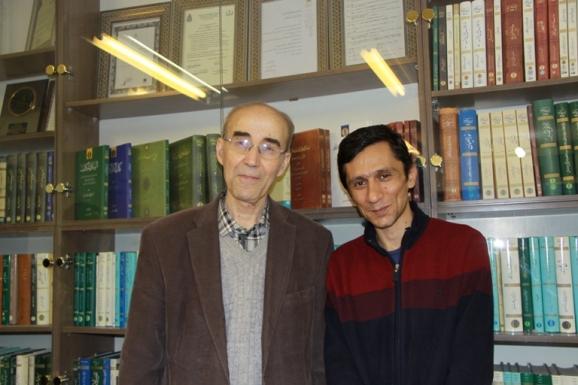 از راست: علی صفری آق قلعه و علی اشرف صادقی