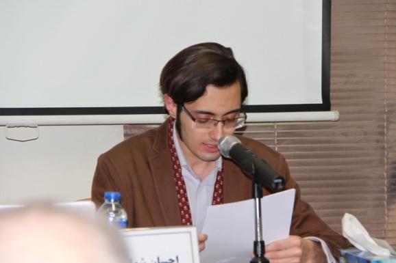 احسان شواربی، پژوهشگر باستان شناسی