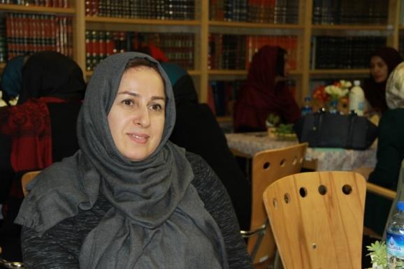 زیبا اشراقی - همسر زنده یاد قیصر امین پور