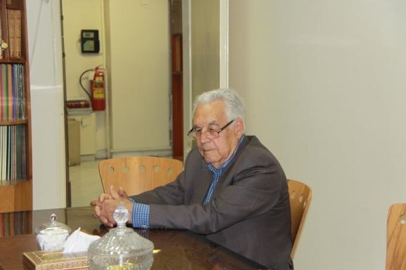 دکتر یوسف ثبوتی - رییس دانشکدۀ تحصیلات تکمیلی دانشگاه زنجان