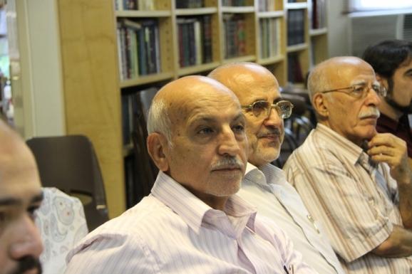 از راست: اسماعیل دمیرچی، حامد صدقی و قاسم صافی