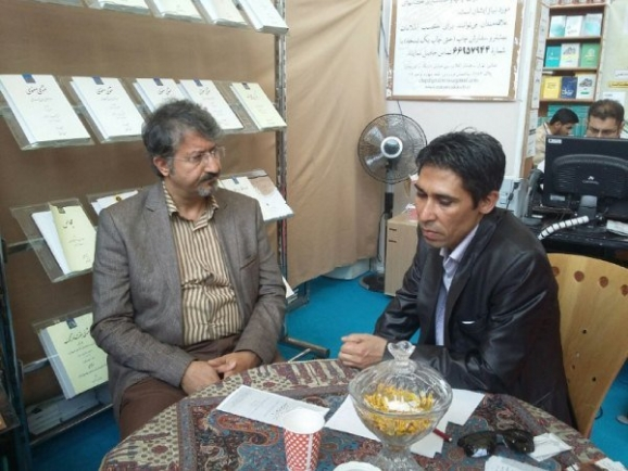 جلال شفیعی - ناشر ایرانی مقیم تاجیکستان