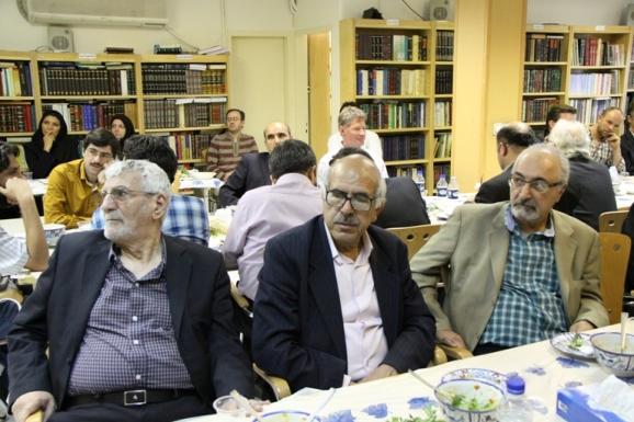 از راست: محمود امیدسالار، سیدعلی آل داوود و مصطفی ذاکری