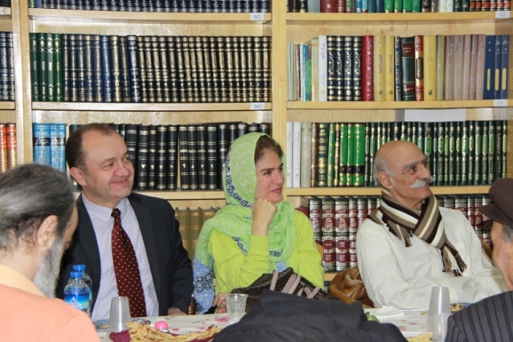 محمد حسن ادیب زاده ، همسر سفیر مجارستان، یانوش کوواچ- سفیر محترم مجارستان
